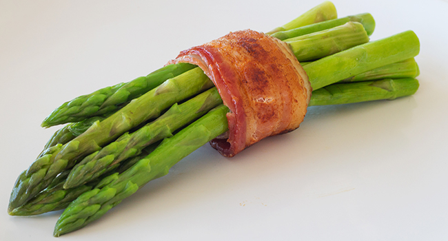 Bacon wrapped Asparagus Premier